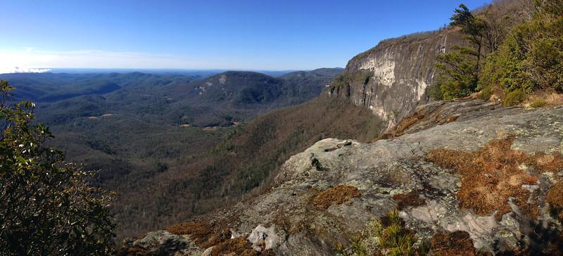 Whiteside Mountain  (3.5 miles; d=5.50)