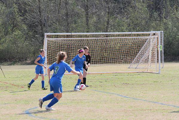 U12 Girls vs DCU 3-19-2011