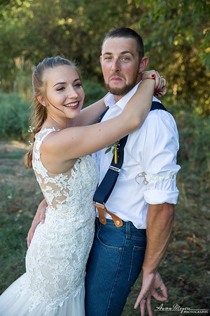 Hailey and Luke Wedding 9-2-17