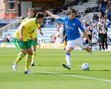 Peterborough United 0 - 2 Norwich City  28.07.12  NO FOOTBALL IMAGES FOR SALE OR REPRODUCTION