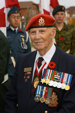 Rick Hansen S.S. Year of the Veteran Dedication