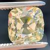 2.10ct Light Yellow Antique Peruzzi Cut Diamond, GIA W-X SI2 0