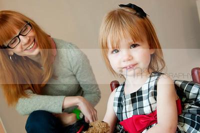Anna Belle - 22 months - December 2012