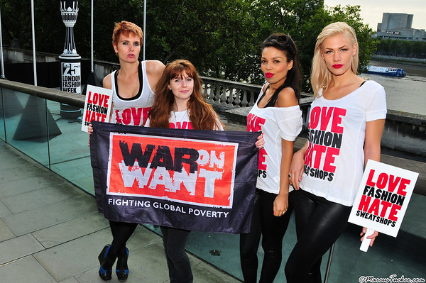 September 2009 - War On Want @ London Fashion Week