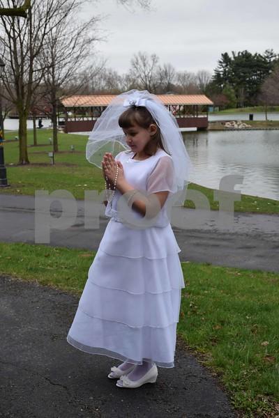 Katie's Communion Pics