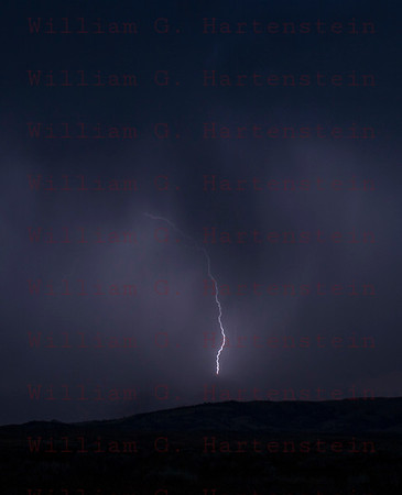 Lightning over Antelope Valley