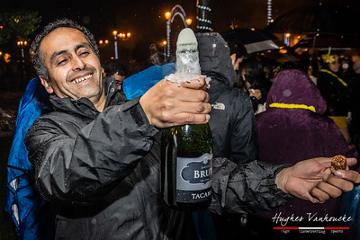 Recibiendo el Año nuevo/Celebrating New Year 2020 @ Plaza de Armas - Cusco - Perú