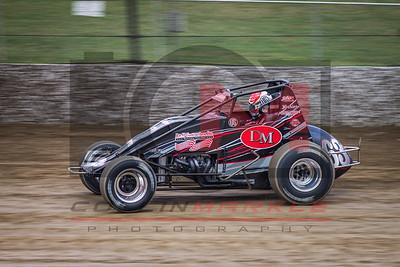 USAC Sprint Cars Eldora Speedway, 4 Crown Night 2, 9/26/15