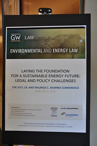 2013 JB & Maurice C. Shapiro Conference: Laying the Foundation for a Sustainable Future