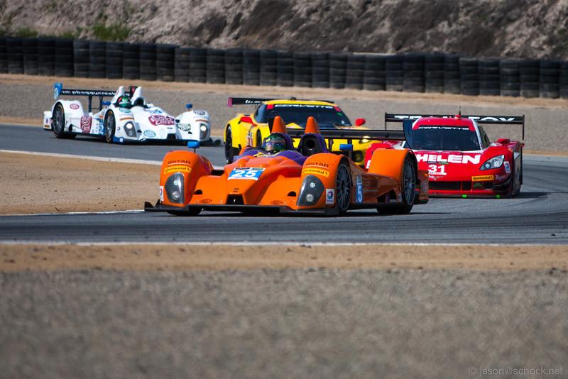 8Star Motorsports Prototype Challenge car at Turn 3.