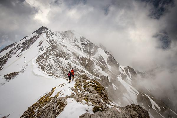 Alpy - Schrocken, Hochmölbing (2336m)