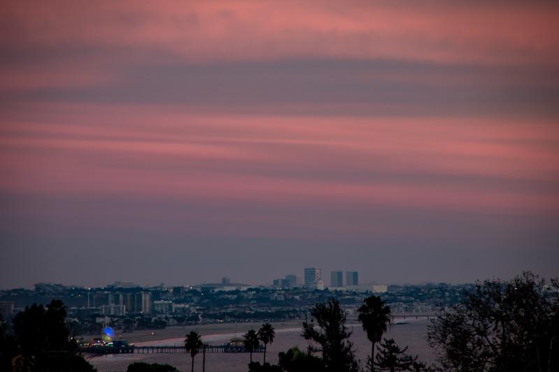 November 27 - Santa Monica Bay sunset.jpg