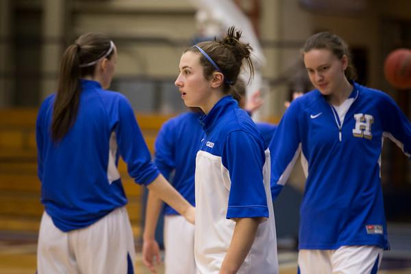Hamilton College Women's Basketball 2014