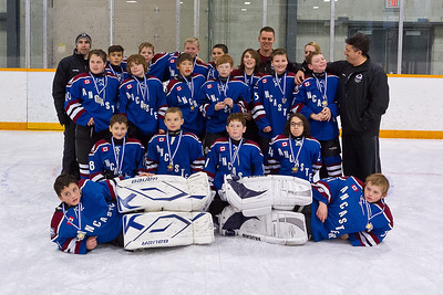 Barrie - Medals, team photos, fan appreciation