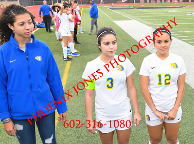 2-21-2020 - Gilbert Christian vs Sahuaita - 3A Girls Soccer - Awards Finals