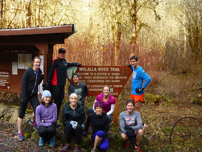 20140223 - Molalla River Trail Run