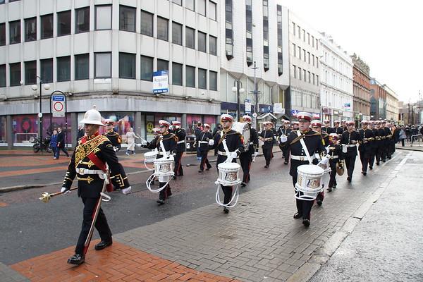UDR 2 Memorial Parade