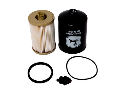 JOHN DEERE 6170R 6190R 6210R SERIES PRIMARY AND FINAL FUEL FILTER KIT (OEM RE541746)