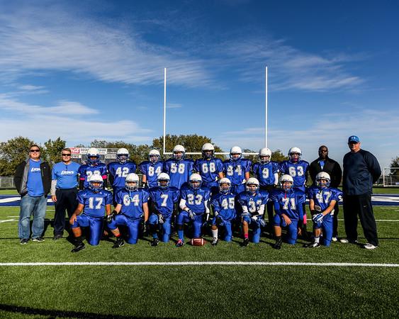 Nov 1 - FWCYFL Tournament - Lions (blue)
