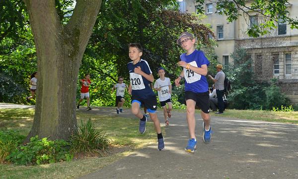 Leamington Half Marathon - Kids Run Free Race