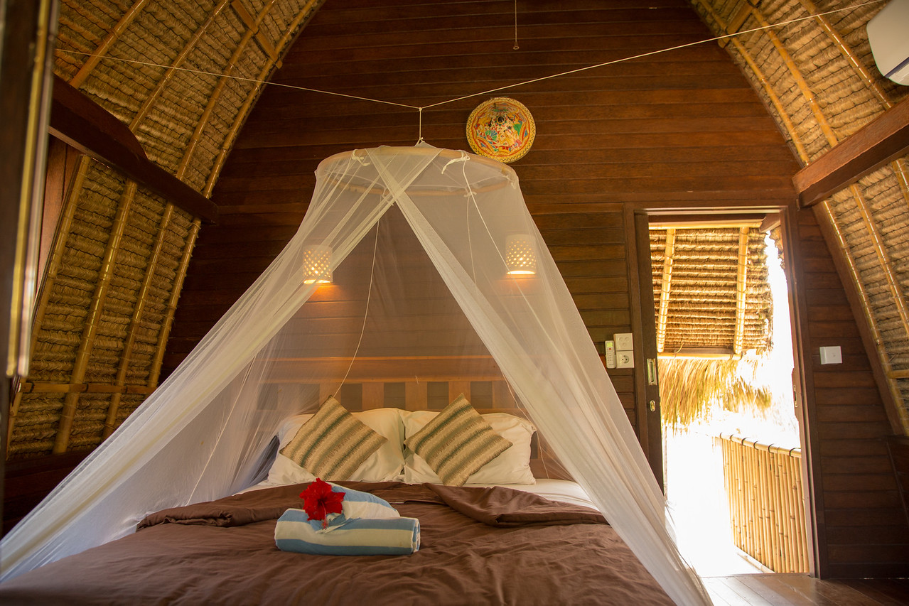 Dream Beach Huts on Lembongan Island Room