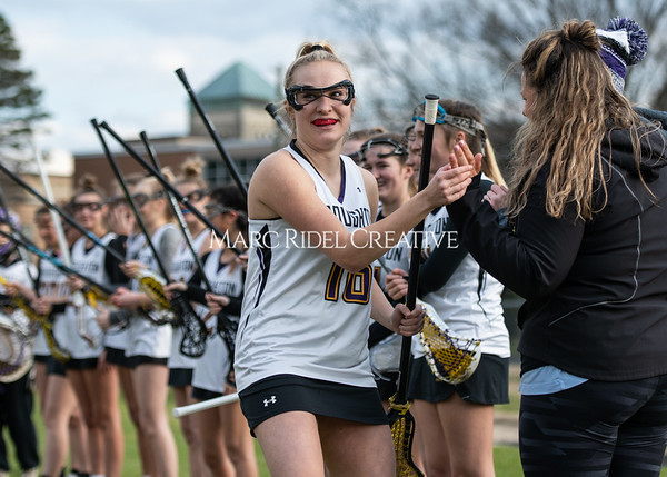 Broughton girls varsity lacrosse vs Middle Creek. February 28, 2020. MRC_5452