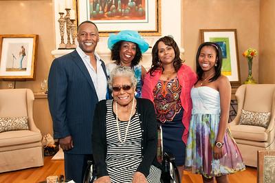Dr Maya Angelou by Jon Strayhorn
