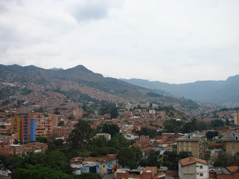 CityScape of Medellin - Flickr Photo CC Iván Erre Jota