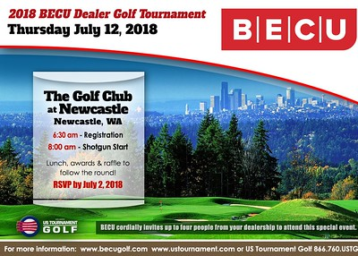 2018 BECU Dealer Golf Tournament
