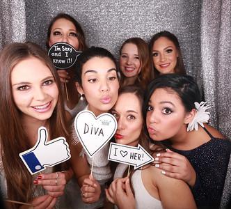 Ashleigh 21st Hampton Party Photobooth Photos
