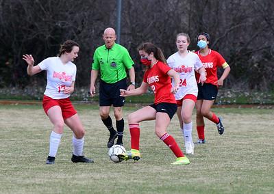 US Girls Soccer vs Davenport District Finals 3-27-21