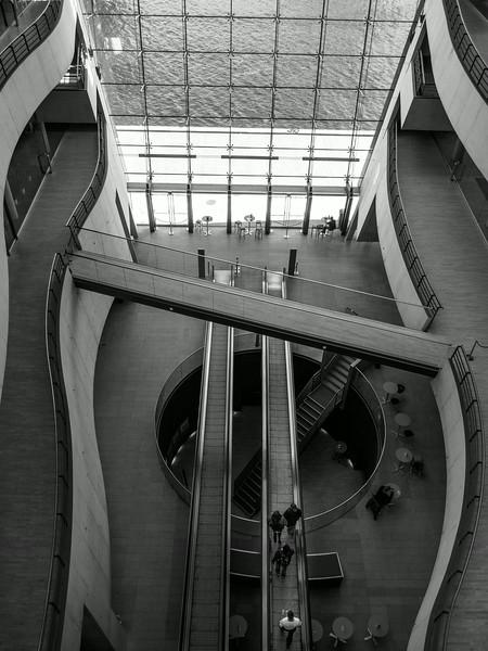 The Black Diamond at the Royal Danish Library in Copenhagen