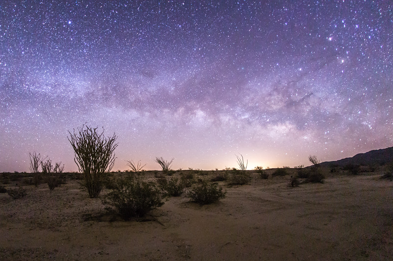 My first Milky Way shot of 2016. Anza-Borrego Desert State Park