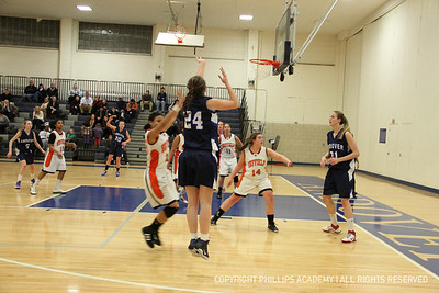 GV Basketball vs Suffield