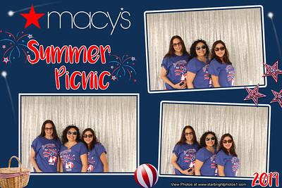 Macy's Summer Picnic