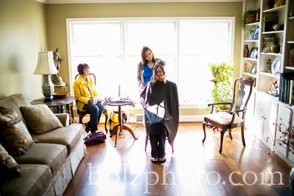 Ashley & Jason Color Wedding Photos