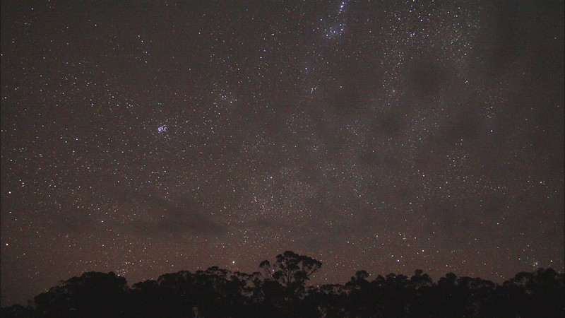 Wide field waiting for Geminids- 13/12/2020 (Processed stills to video)
