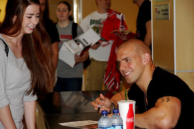 Celebrity Signing Series - James Laurinaitis - April 15, 2010