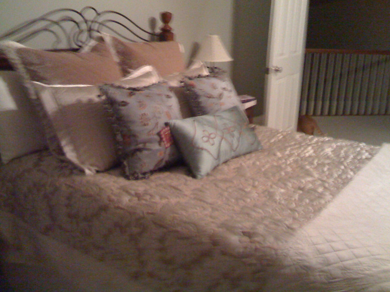 Seriously.  too many pillows already.
