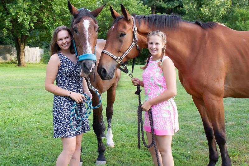 Leah & Zack - Horse Photos