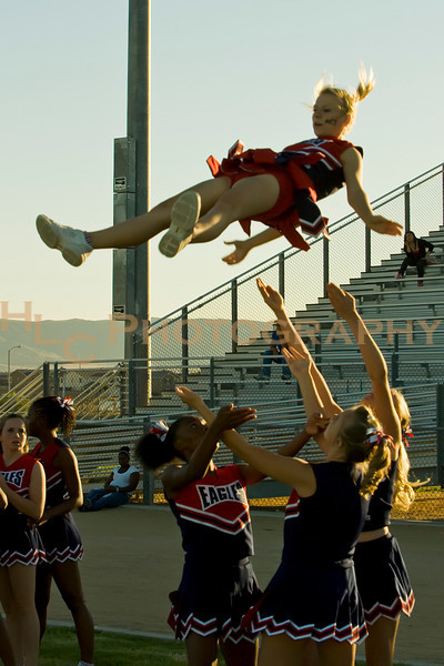 09/10/10 LnHS vs. West Ranch-Varsity Cheer