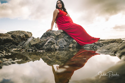 Kiran's Maternity Shoot | Cattle Point, Victoria BC.