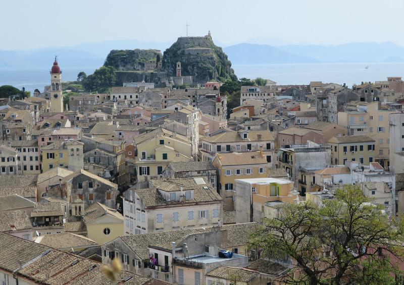 Het oude venetiaanse fort