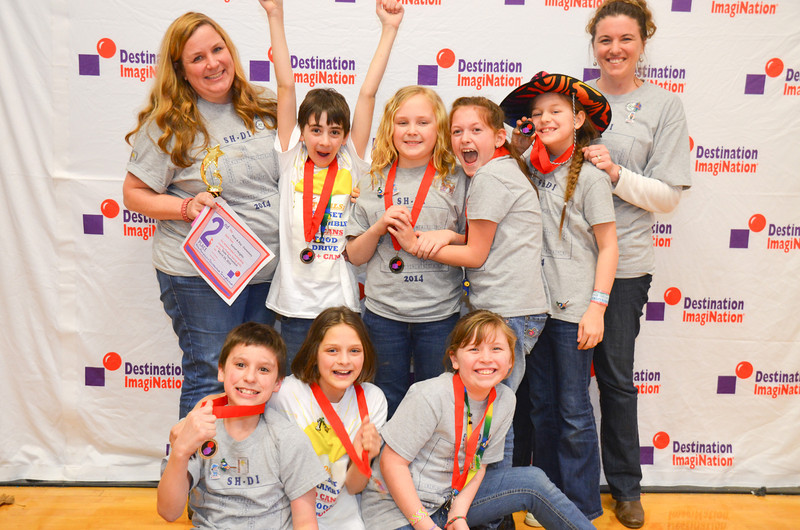 2nd place, projectOUTREACH, Putch & Play, Elementary.  Sunset Heights Elementary School, Nashua, #130-81080