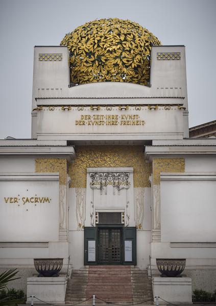 Vienna: The Secession Building, front facade (1897)