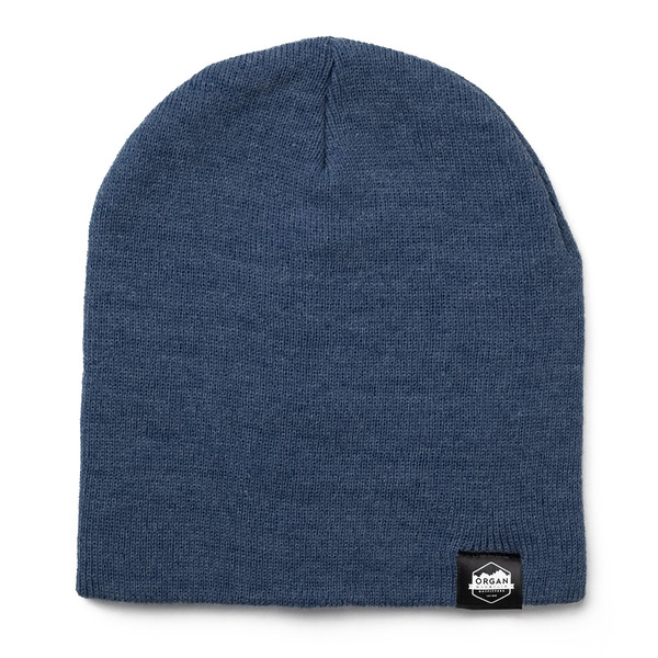 Outdoor Apparel - Organ Mountain Outfitters - Hat - 8 Inch Knit Beanie - Heather Dark Royal.jpg