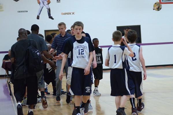 Oswego East Wolf Pack Basketball 2012