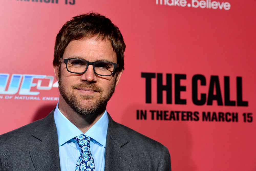 """. Director Brad Anderson arrives at the premiere Of Tri Star Pictures\' \""""The Call\"""" at ArcLight Cinemas on March 5, 2013 in Hollywood, California.  (Photo by Frazer Harrison/Getty Images)"""