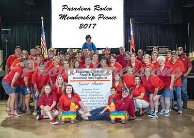 Membership Picnic------July 22, 2017