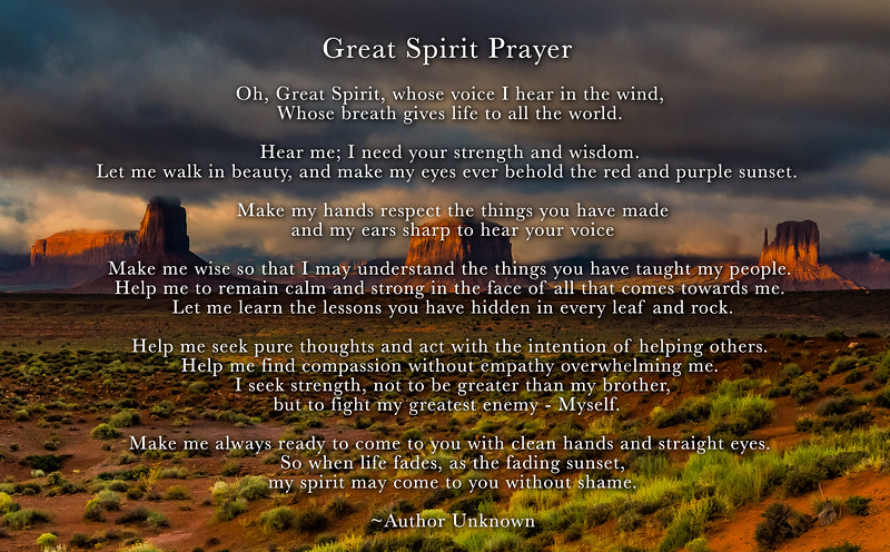 Great Spirit Prayer